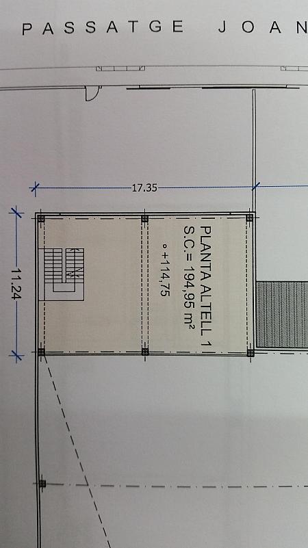 Nave industrial en alquiler en calle Joan Miro, Polinyà - 325246270