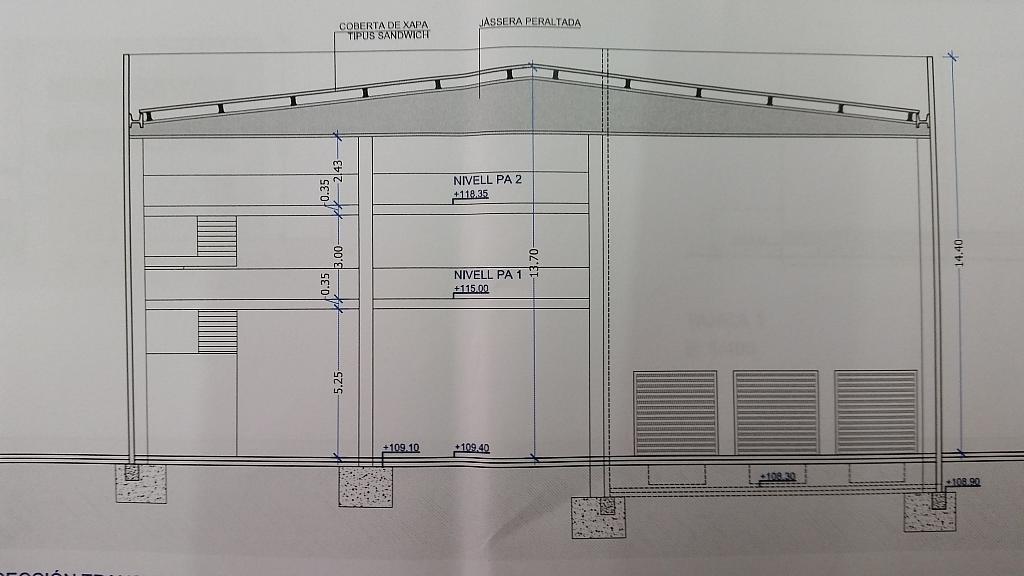 Nave industrial en alquiler en calle Joan Miro, Polinyà - 325246334