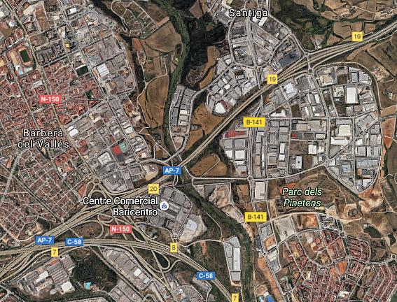 Nave industrial en alquiler en calle Cabanyes, Barbera del Vallès - 332006704