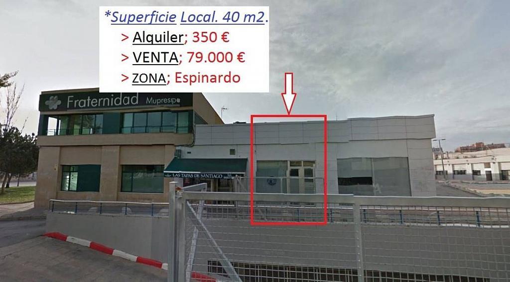 Local comercial en alquiler en Espinardo en Murcia - 342802876