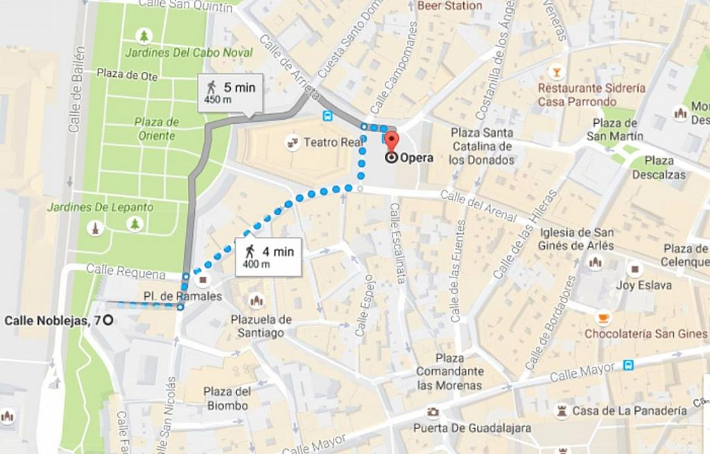 Piso en alquiler en calle Noblejas, Palacio en Madrid - 358648804