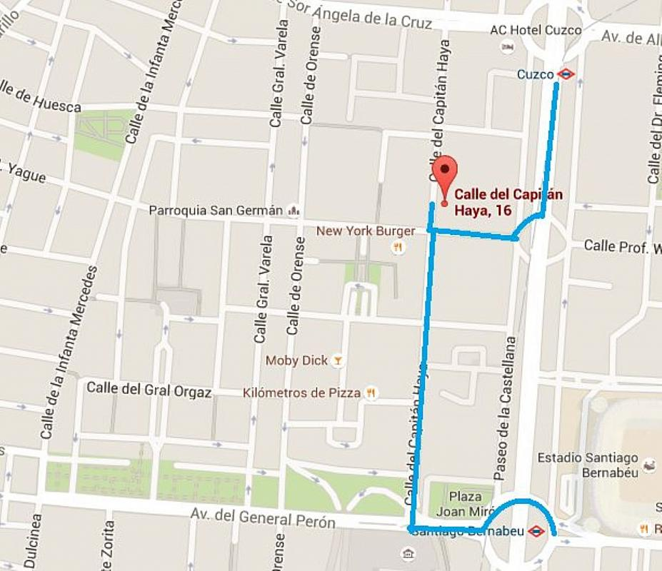 Piso en alquiler en calle Del Capitán Haya, Tetuán en Madrid - 325843246