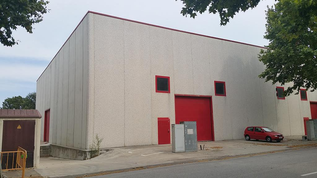 Imagen del inmueble - Nave industrial en alquiler en calle Llevant, Riudellots de la Selva - 326809012
