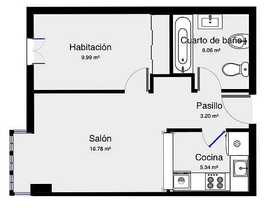 Apartamento en alquiler en calle Gamazo, Caño Argales en Valladolid - 334323975