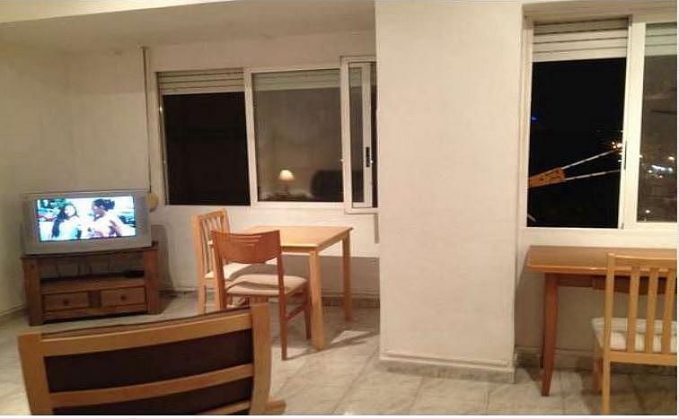 Salón - Apartamento en alquiler en calle Novelda, Los Angeles en Alicante/Alacant - 351491454