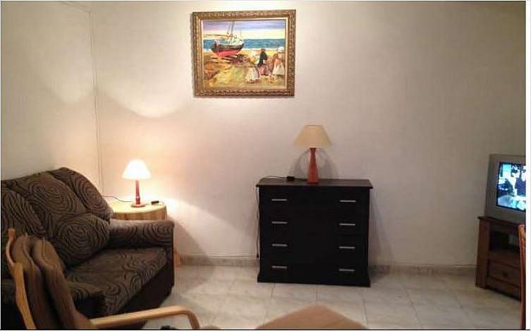 Salón - Apartamento en alquiler en calle Novelda, Los Angeles en Alicante/Alacant - 351491457