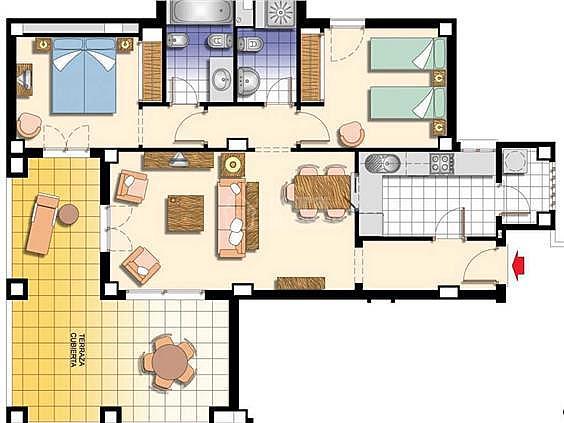 Apartamento en alquiler en calle De la Mojarra, Ayamonte - 354705426