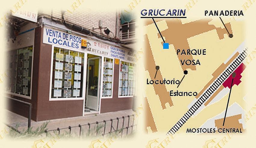 Fachada - Local comercial en alquiler en calle Del Parque Vosa, Norte-Universidad en Móstoles - 174604103