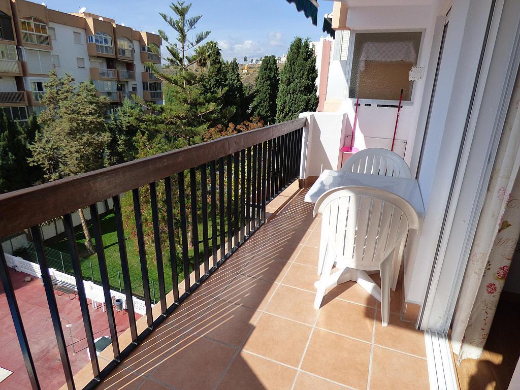 Terraza - Piso en alquiler en calle Tore Tore, Torre del mar - 159955898