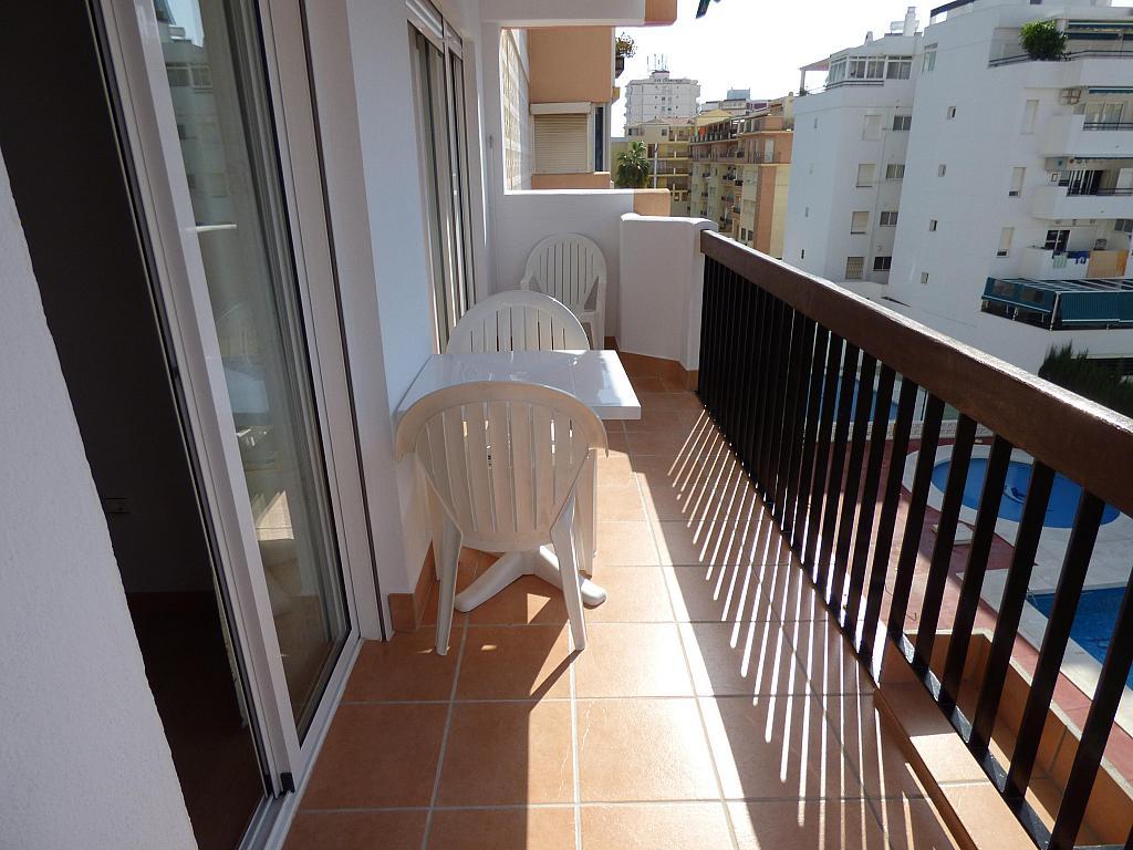 Terraza - Piso en alquiler en calle Tore Tore, Torre del mar - 159955906