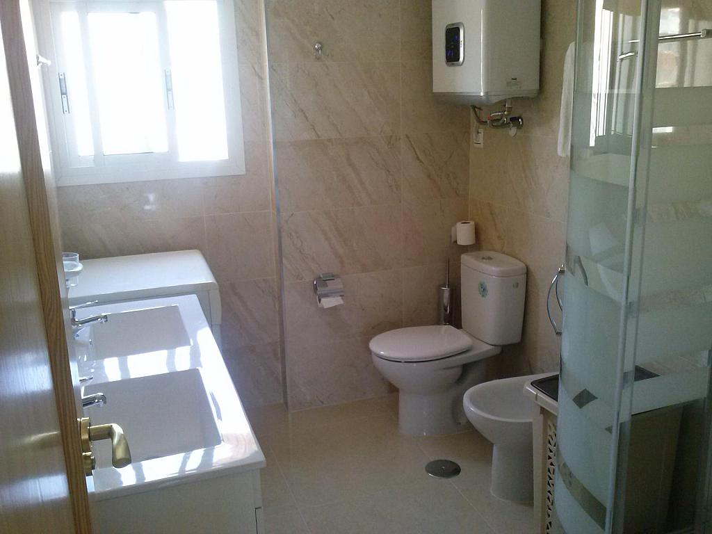 Baño - Piso en alquiler en calle Levante, Torre del mar - 148799851