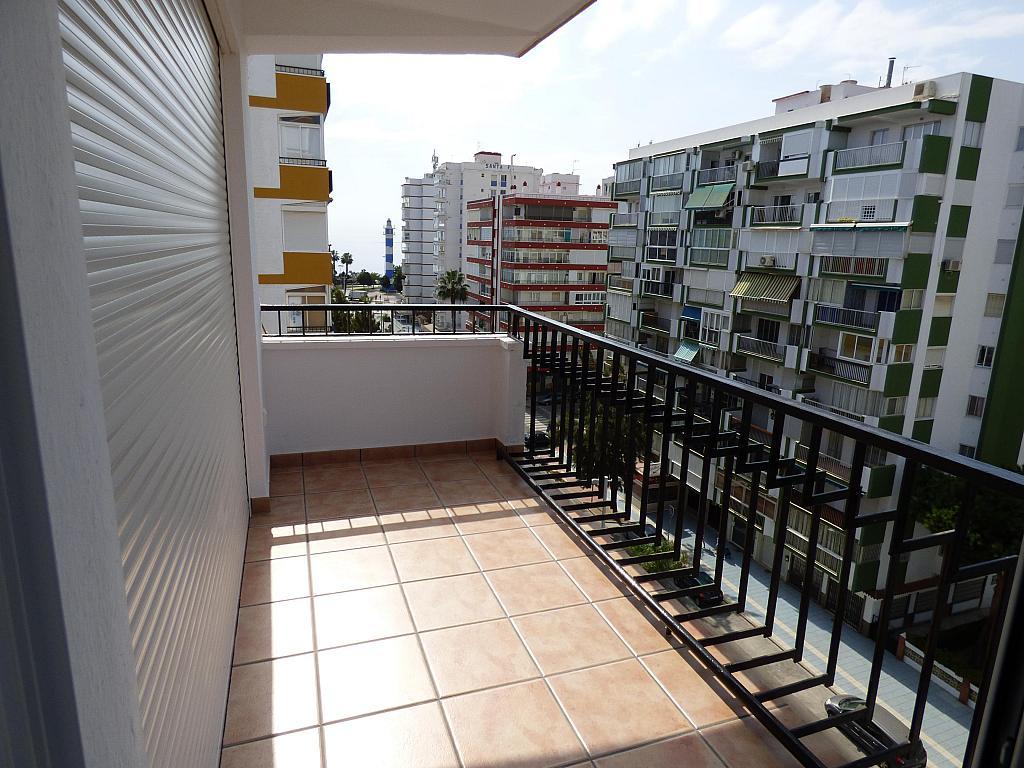 Terraza - Piso en alquiler en calle Tore Tore, Torre del mar - 156374776