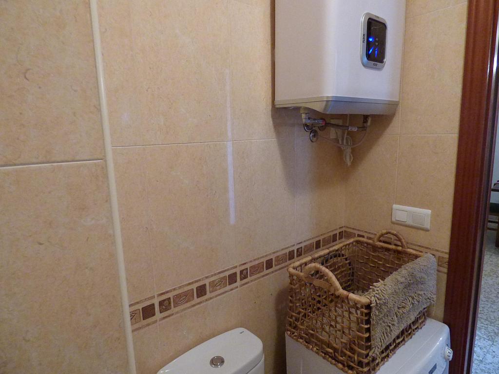 Baño - Piso en alquiler en calle Infantes, Torre del mar - 172885375