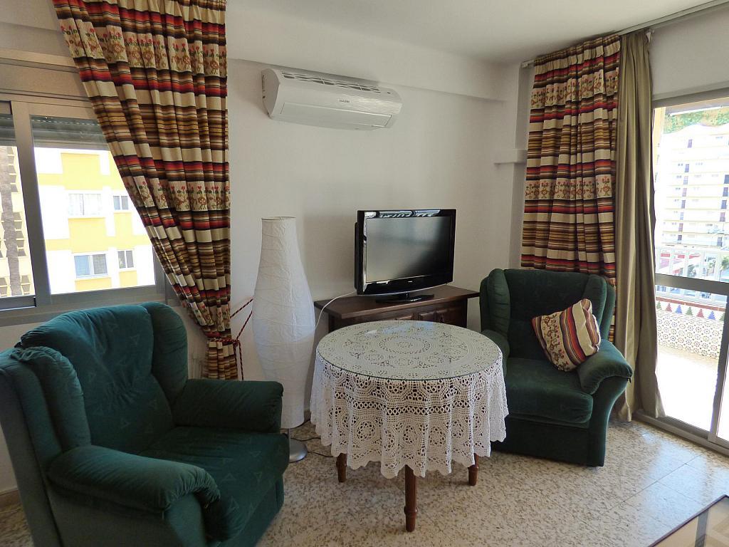 Salón - Piso en alquiler en calle Infantes, Torre del mar - 172885434
