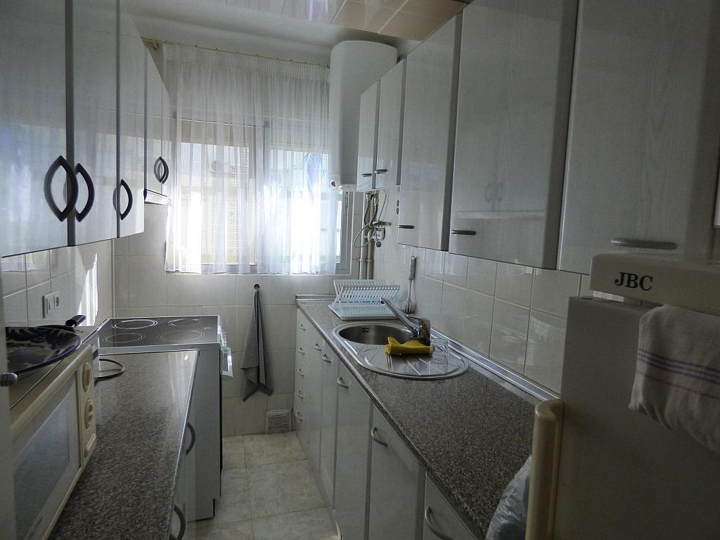 Cocina - Piso en alquiler en calle Clavel, Torre del mar - 223880049