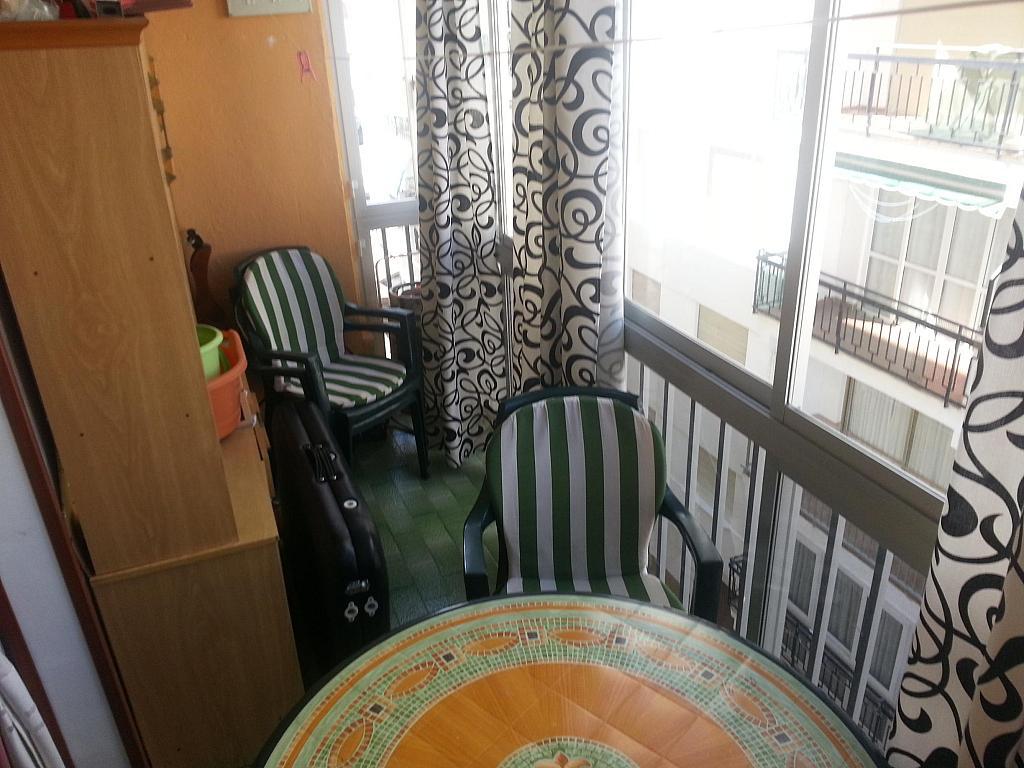 Terraza - Piso en alquiler en calle Falucha, Torre del mar - 230717070