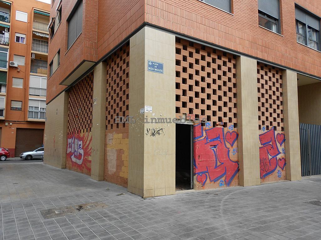 Fachada - Bajo en alquiler en plaza Nou Moles, Nou Moles en Valencia - 254539877