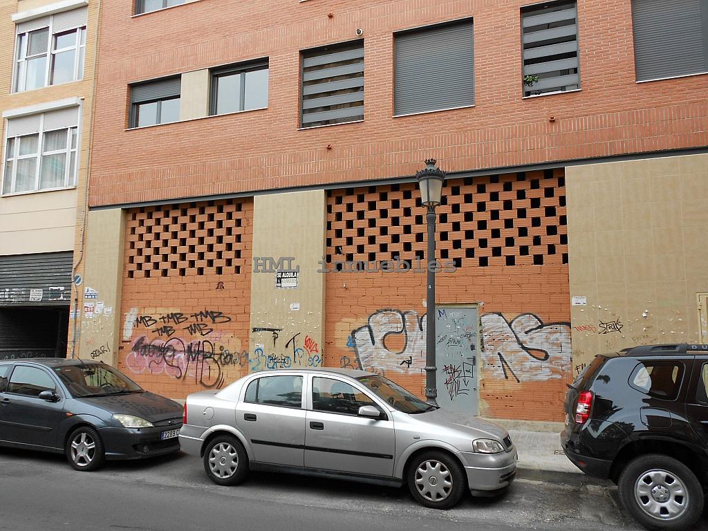 Fachada - Bajo en alquiler en calle Torres Torres, Nou Moles en Valencia - 254541690