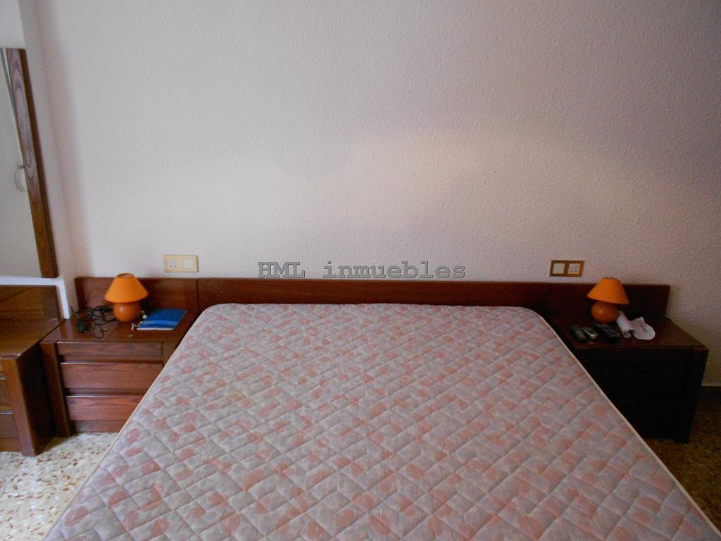 Dormitorio - Piso en alquiler en calle Malvarrosa, La Malva-rosa en Valencia - 254542148