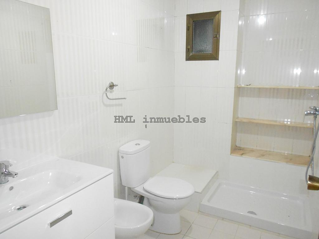 Baño - Piso en alquiler en calle Malvarrosa, La Malva-rosa en Valencia - 254542363
