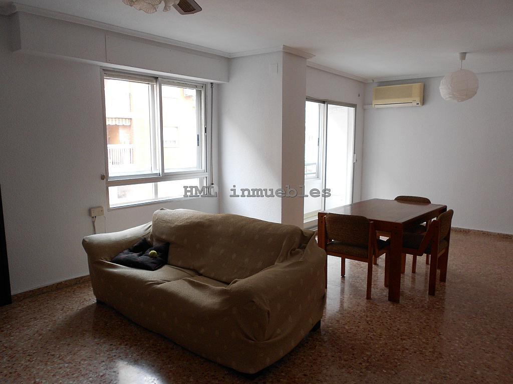 Salón - Piso en alquiler en calle Malvarrosa, La Malva-rosa en Valencia - 254542398