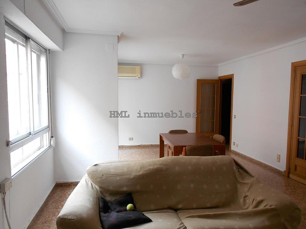 Salón - Piso en alquiler en calle Malvarrosa, La Malva-rosa en Valencia - 254542408