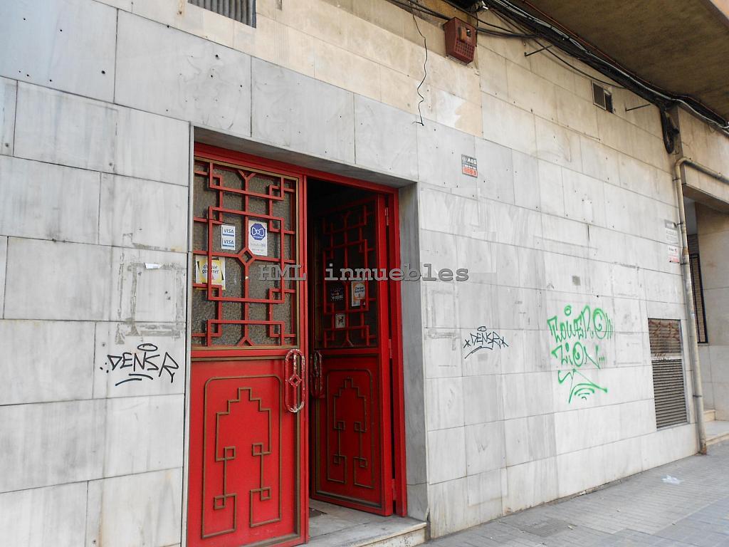 Fachada - Local comercial en alquiler en calle Primado Reig, Benimaclet en Valencia - 208763624