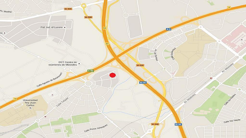 Plano - Nave industrial en alquiler en calle Marquetería, Sur-Este en Móstoles - 300931672