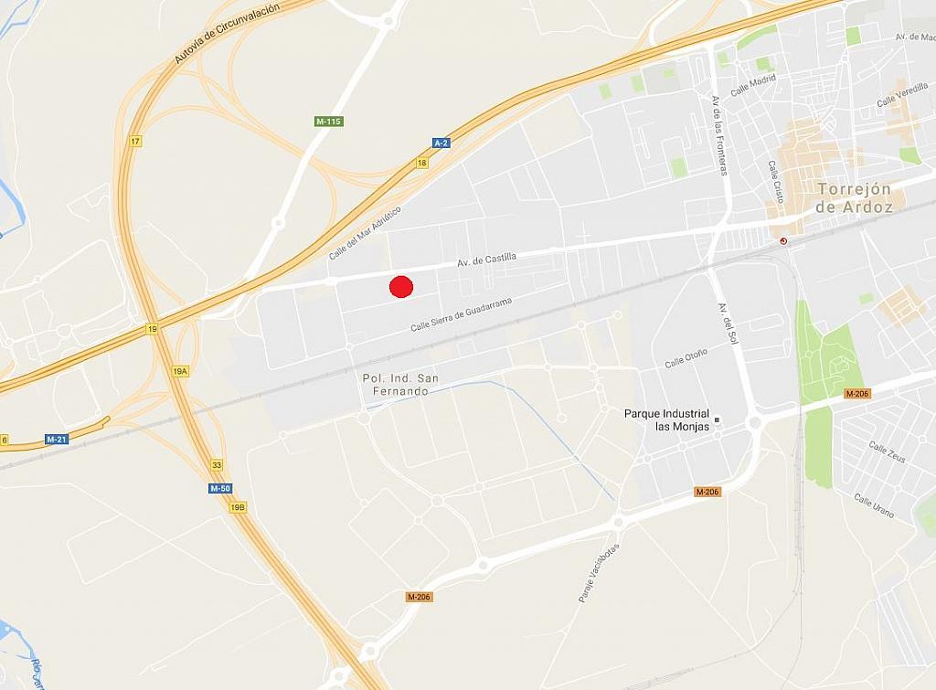 Plano - Nave en alquiler en calle De Castilla, San Fernando de Henares - 342540745
