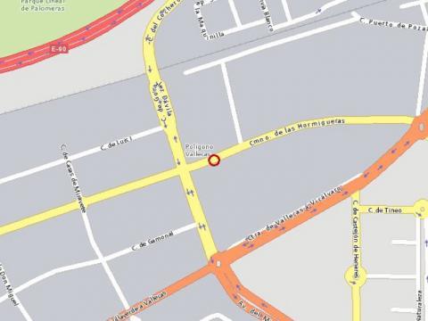Plano - Nave industrial en alquiler en calle De Hormigueras, Ensanche de Vallecas en Madrid - 24064166
