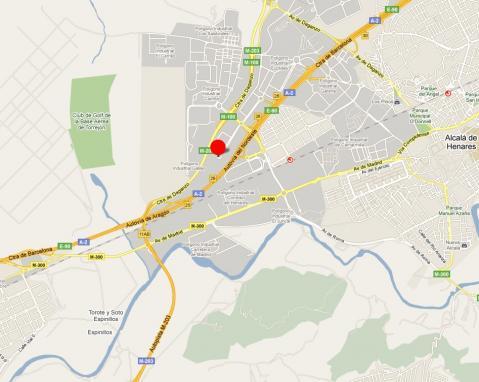 Plano - Nave en alquiler en calle René Descartes, Garena en Alcalá de Henares - 31382738
