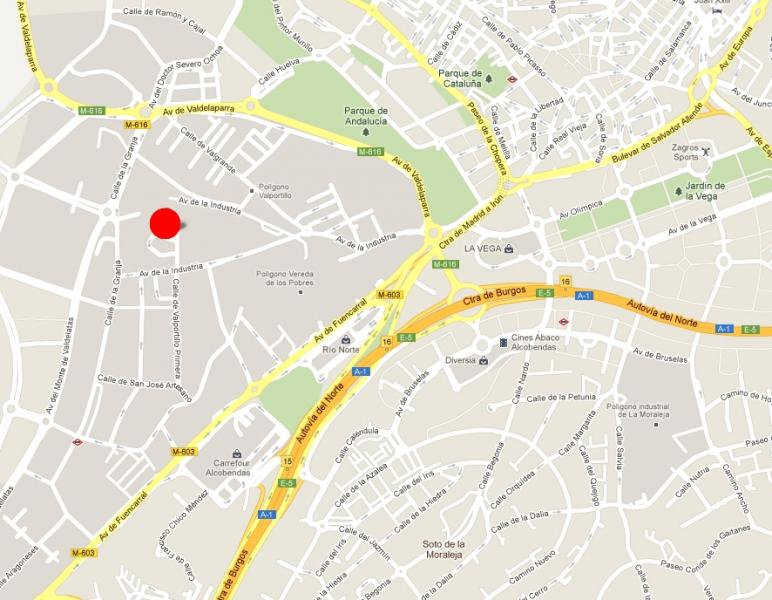Plano - Nave industrial en alquiler en calle Torres Quevedo, Norte en Alcobendas - 52503136