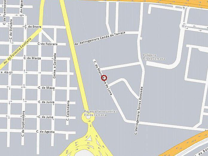 Plano - Nave industrial en alquiler en calle Mario Rosso de Luna, Aeropuerto en Madrid - 125301933