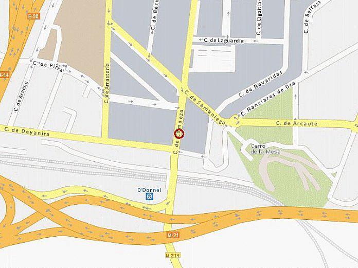 Plano - Nave industrial en alquiler en calle Campezo, Aeropuerto en Madrid - 125610863