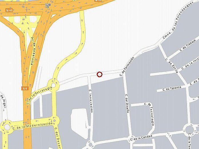 Plano - Nave industrial en alquiler en calle De la Estrategia, La Alhóndiga en Getafe - 127761367