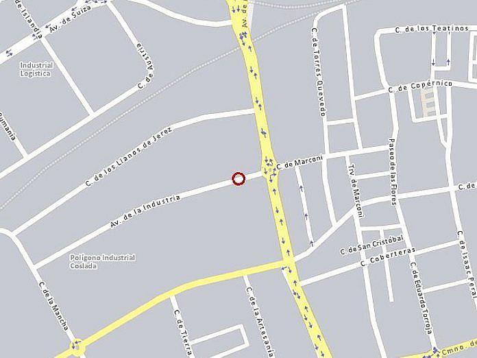 Plano - Nave en alquiler en calle De la Industria, Coslada - 128128819