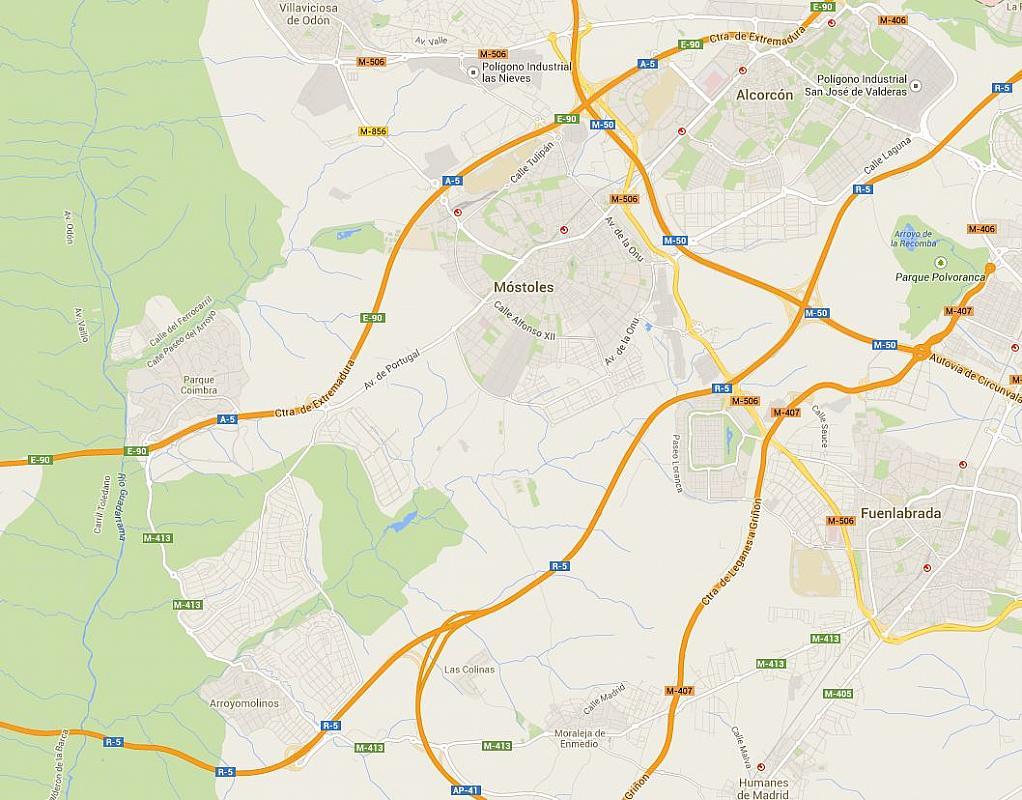 Plano - Nave en alquiler en calle , Norte-Universidad en Móstoles - 156068314