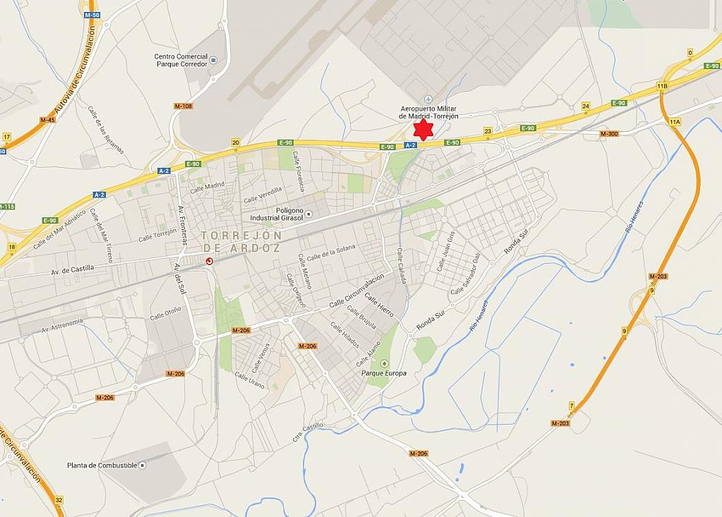 Plano - Nave en alquiler en carretera De la Base, Torrejón de Ardoz - 157887022