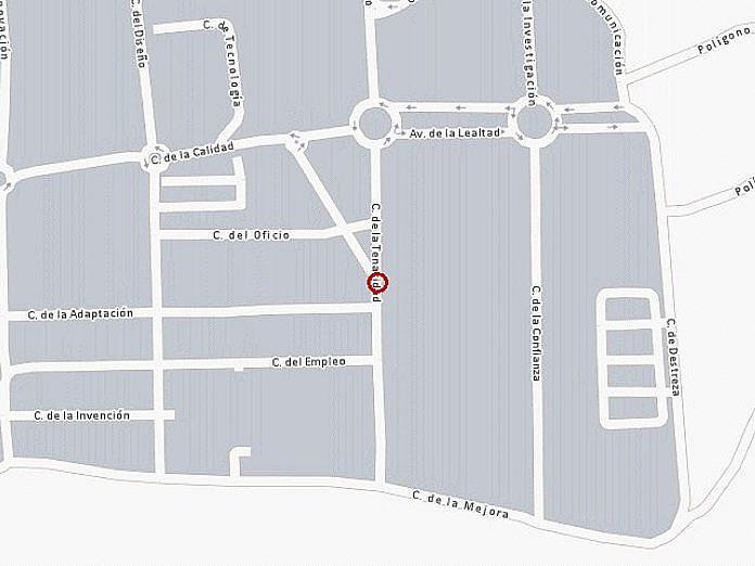 Plano - Nave industrial en alquiler en calle De la Tenacidad, Getafe Norte en Getafe - 162524656