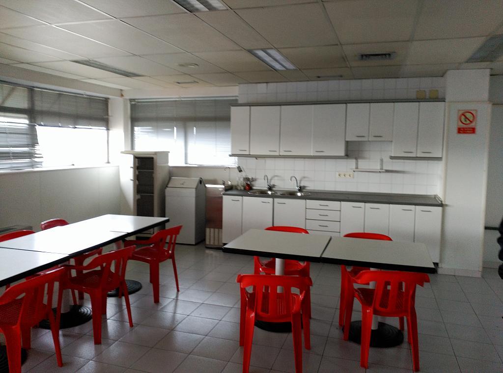 Comedor - Nave industrial en alquiler en carretera Villaverdevallecas, Ensanche de Vallecas en Madrid - 175021583