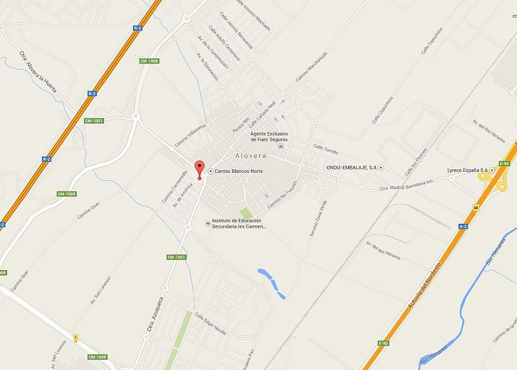 Nave industrial en alquiler en calle De América, Alovera - 187082105