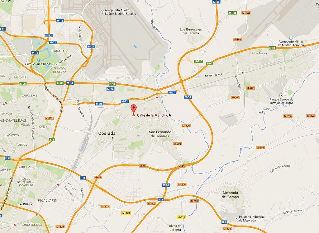 Nave industrial en alquiler en calle De la Mancha, Barrio de la Estacion en Coslada - 188914551