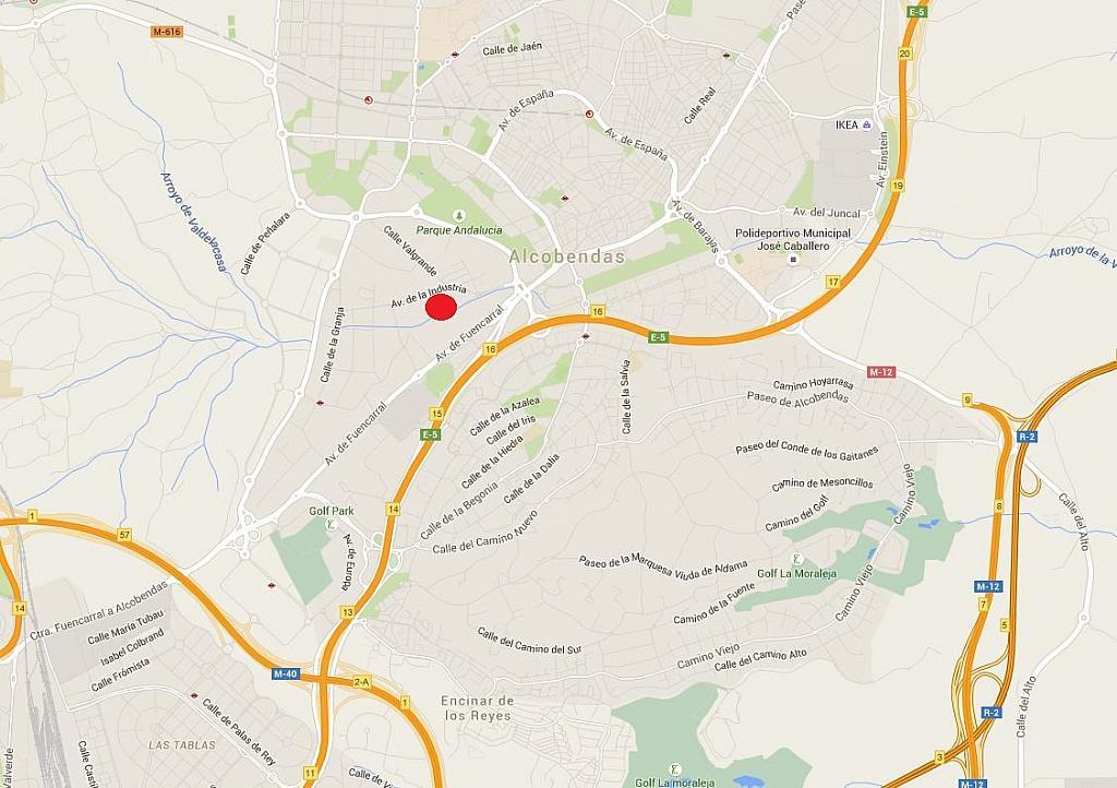 Plano - Nave en alquiler en calle De la Industria, Norte en Alcobendas - 199713337