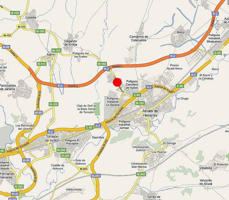 Plano - Nave en alquiler en calle Francisco Rabal, Garena en Alcalá de Henares - 224231535