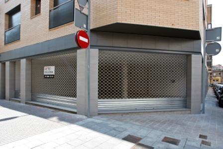 Fachada - Local comercial en alquiler en calle Paradís, Igualada - 26153937