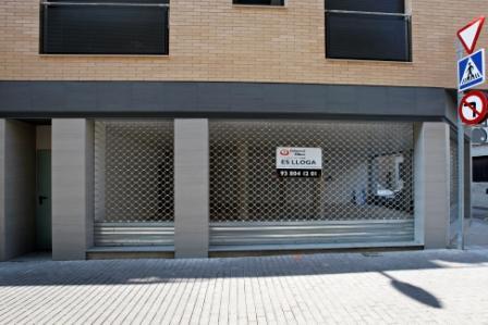 Fachada - Local comercial en alquiler en calle Paradís, Igualada - 26154232