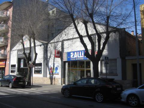 Fachada - Local comercial en alquiler en carretera Manresa, Poble Sec en Igualada - 20149753