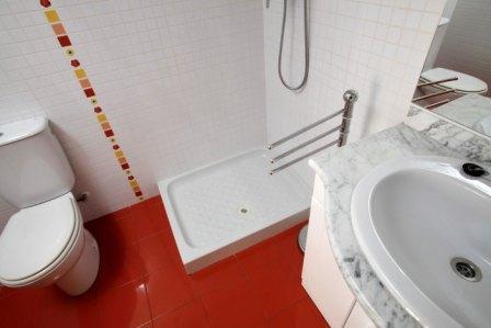 Baño - Piso en alquiler en calle Pobla de Claramunt, Igualada - 70242337