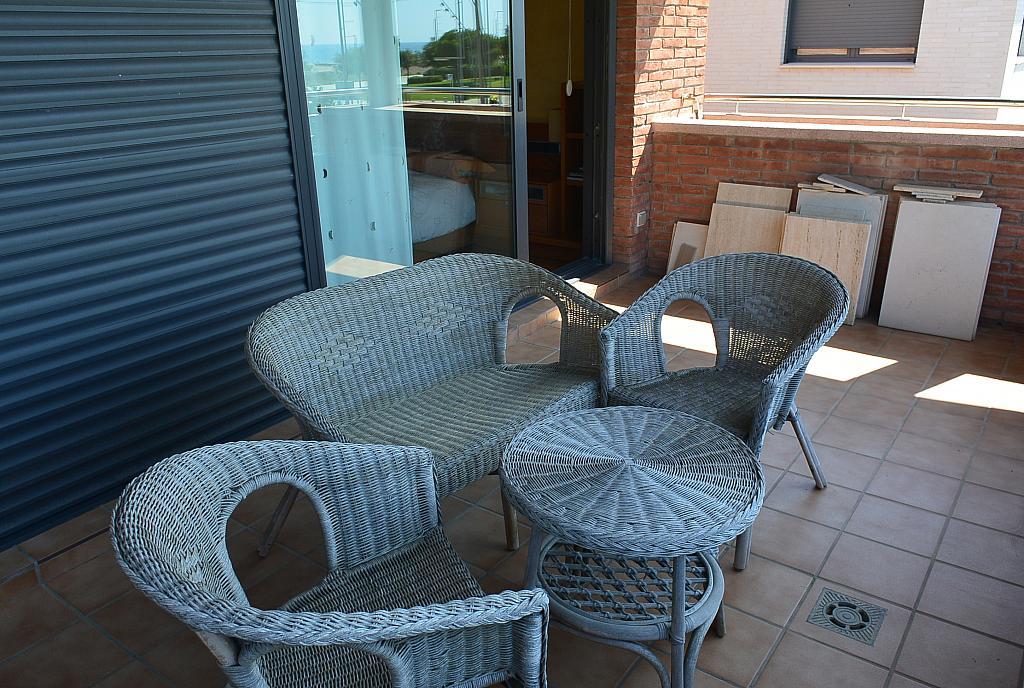 Terraza - Casa en alquiler en Playa en Castelldefels - 283182900