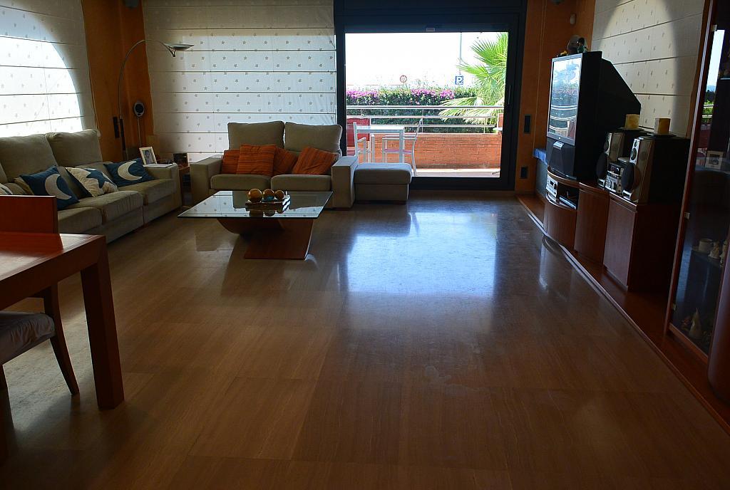 Salón - Casa en alquiler en Playa en Castelldefels - 283182956